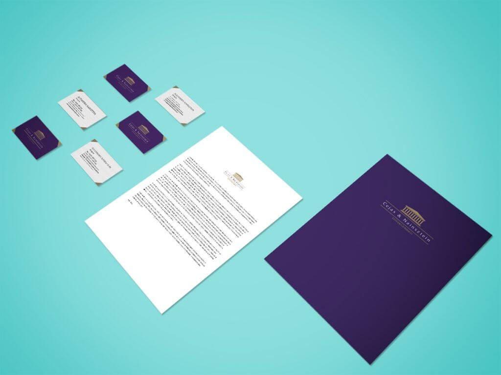 Branding – Cejas & Nainzstein Estudio Jurídico