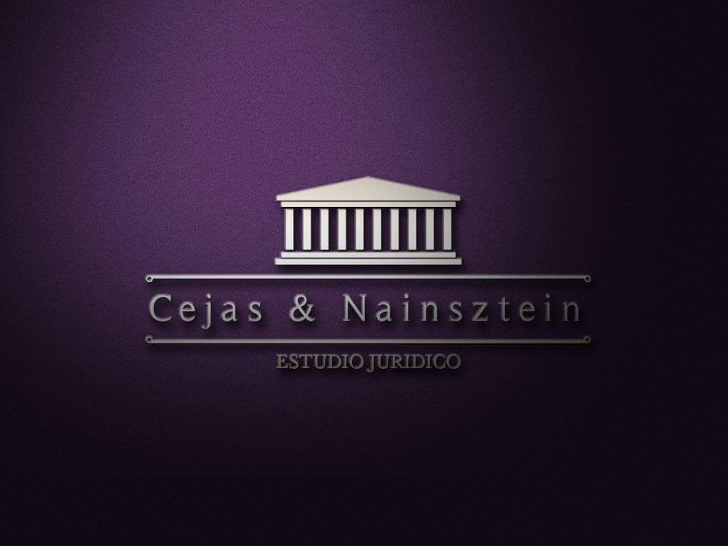 Diseño de Logotipo Cejas & Nainsztein