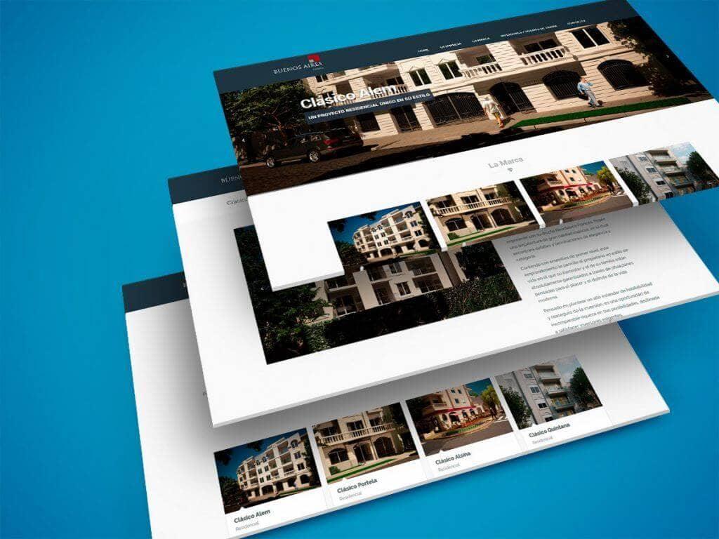 Diseño Web – Buenos Aires Terra