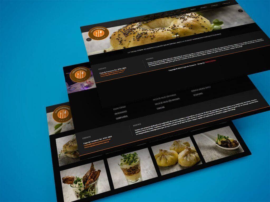 Diseño Web – Cepa de Cocineros
