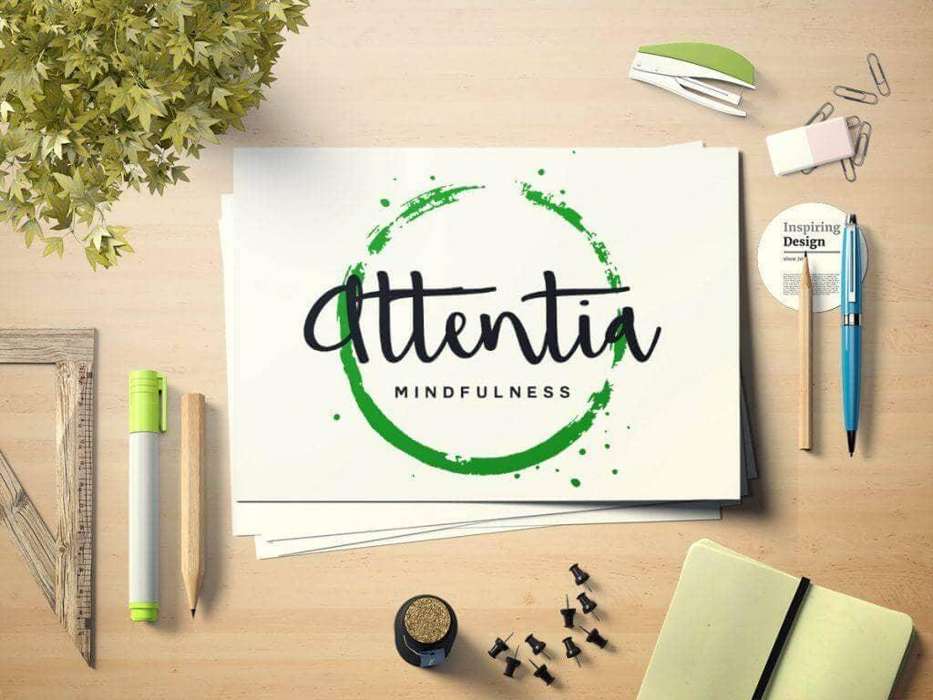 Diseño de Logotipo de Attentia
